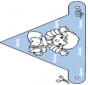 Decorationflag baby 1
