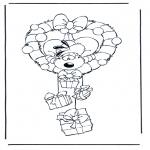 Tegneseriefigurer - Diddl 18