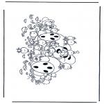 Tegneseriefigurer - Diddl 32