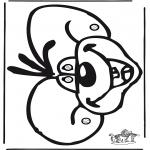 Tegneseriefigurer - Diddl 58