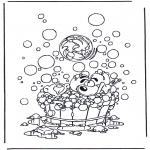 Tegneseriefigurer - Diddl coloring pages
