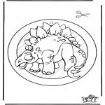 Dyr - Dino raamhanger