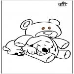 Dyr - Dog and bear