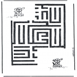 Kreativitet - Dog labyrinth