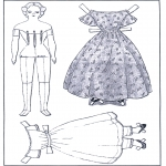 Kreativitet - Doll and clothing 1