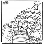 Temaer - Dora birthday