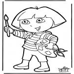 Småbarn - Dora the Explorer 10
