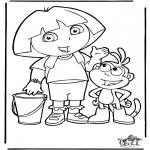 Småbarn - Dora the Explorer 4