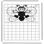 Kreativitet - Drawing butterfly