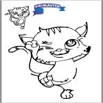 Kreativitet - Drawing cat