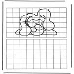 Kreativitet - Drawing dog