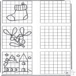 Kreativitet - Drawing X-mas