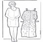 Dress up doll grandma