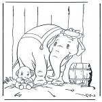 Tegneseriefigurer - Dumbo 1