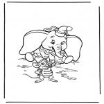 Tegneseriefigurer - Dumbo 3