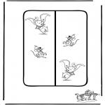 Tegneseriefigurer - Dumbo 5