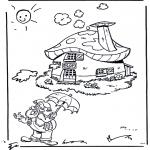 Småbarn - Dwarf near his house
