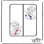Temaer - Easter Bookmark 1