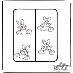 Temaer - Easter Bookmark 2