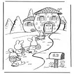 Temaer - Easter bunny house