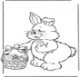 Easter bunny with eggs 2