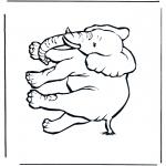 Dyr - Elephant 4