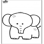 Dyr - Elephant 7