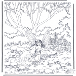 Litt av hvert - Elfjes in het bos