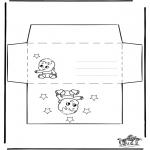 Kreativitet - Envelop baby