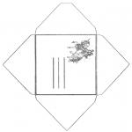 Kreativitet - Envelop unicorn