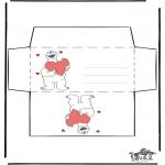 Kreativitet - Envelop Valentijn 2