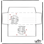 Kreativitet - Envelop Valentijn