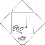 Kreativitet - Envelope Dolphin