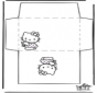 Envelope Hello Kitty