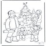 Jul - Familie in de sneeuw