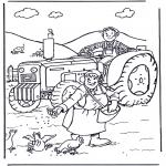 Litt av hvert - Farmer and wife