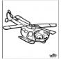 Figuurzagen helicopter