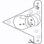 Kreativitet - Flag Snowman 2