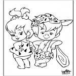 Tegneseriefigurer - Flinstones