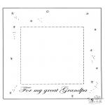 Temaer - Fotoframe dear grandpa