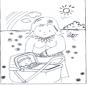Free coloring pages baby