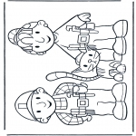 Småbarn - Free coloring pages Bob the Builder