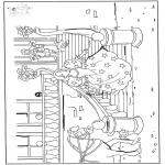 Litt av hvert - Free coloring pages Cinderella