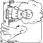 Småbarn - Free coloring pages dog