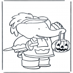 Temaer - Free coloring pages Halloween