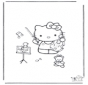 Free coloring pages Hello Kitty