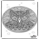 Mandala - Free coloring pages Mandala