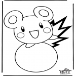 Tegneseriefigurer - Free coloring pages Pokemon