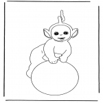 Småbarn - Free coloring pages Teletubbies