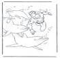 Free coloring pictures dolphins